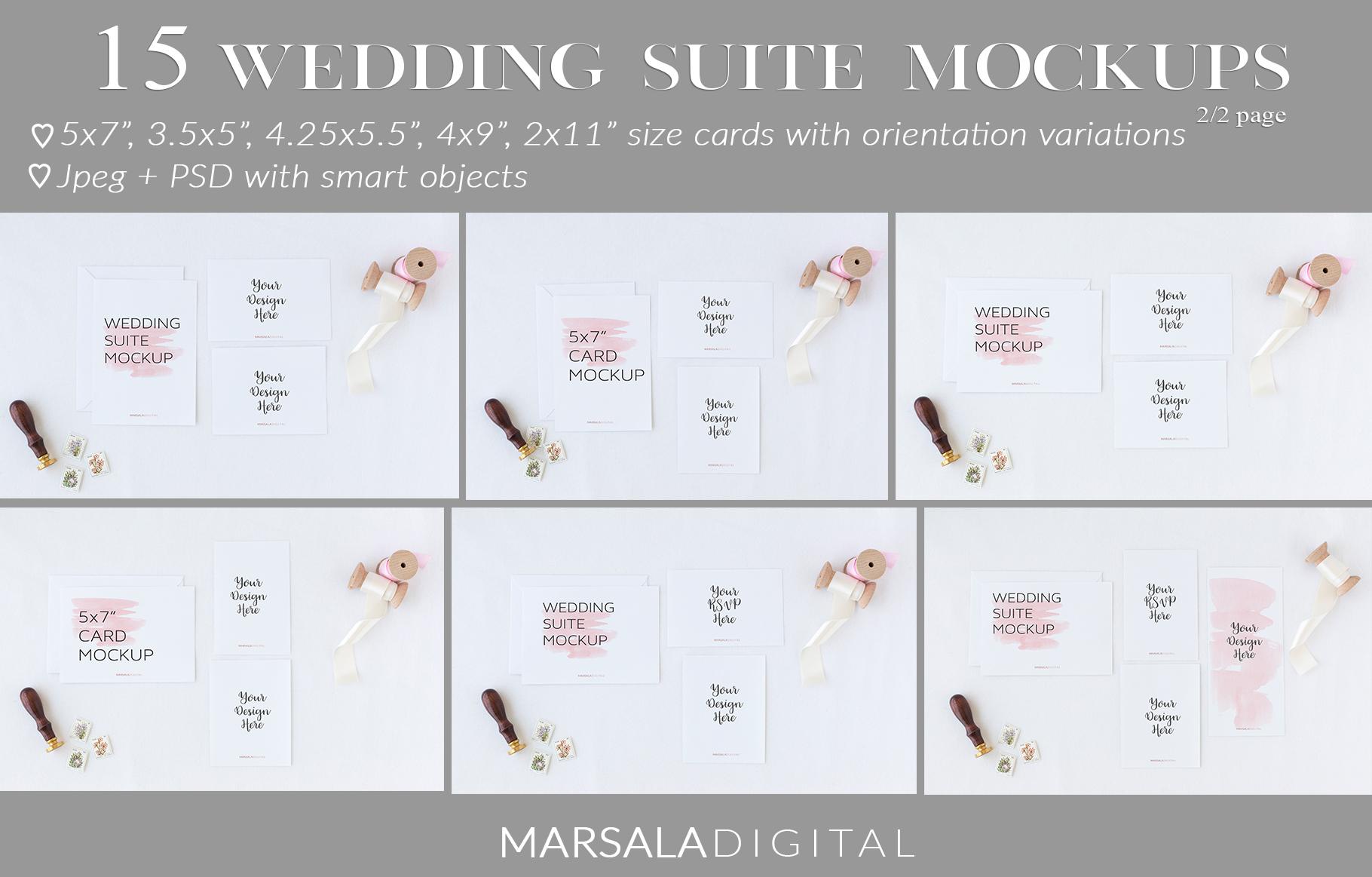 Ultimate Wedding Mockup Bundle example image 15