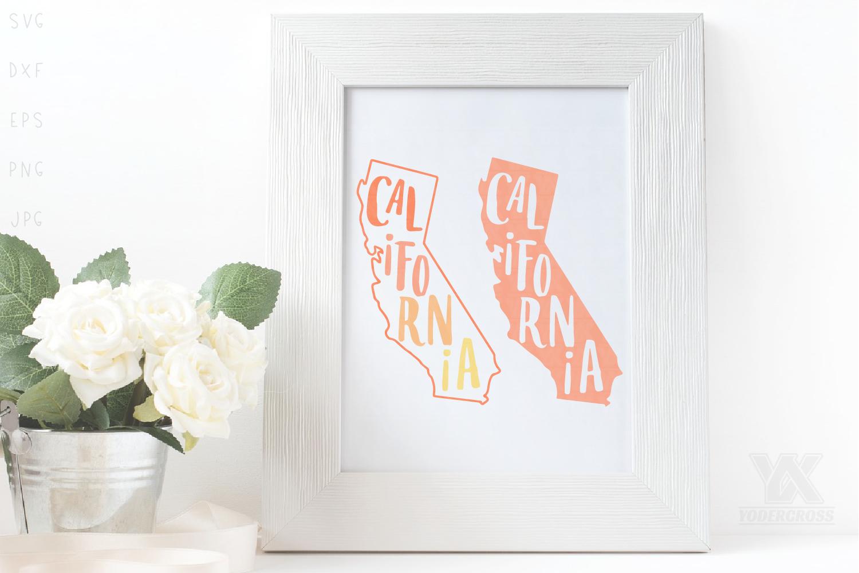 California SVG Set example image 1
