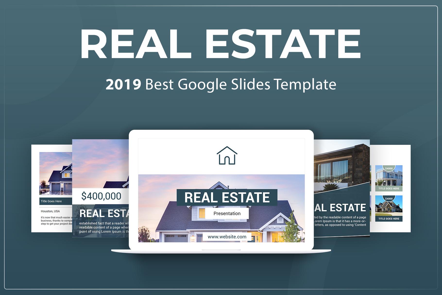 Real Estate Google Slides Template example image 1