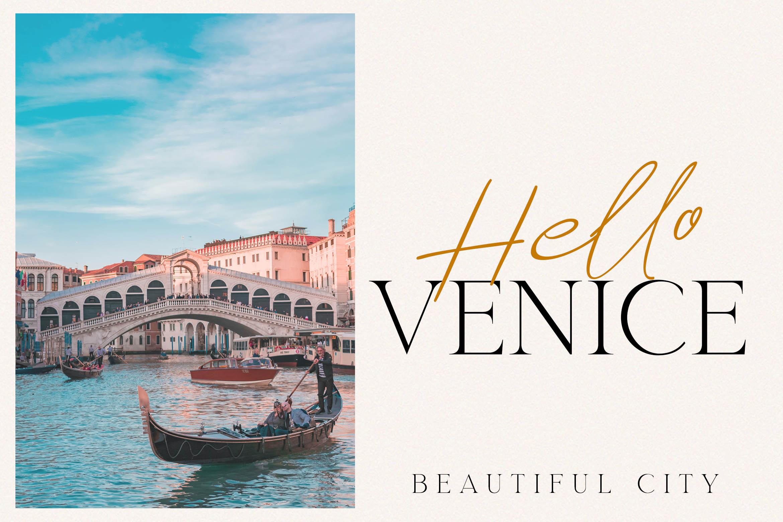 Romantic Venice Font Duo example image 4