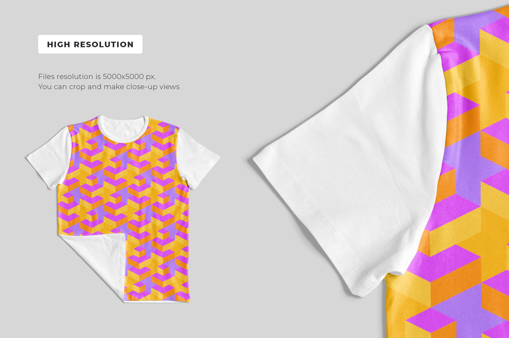 Customizable T-Shirt Mockups Pack example image 6