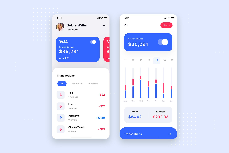 Curium - Financial UI Kit example image 9