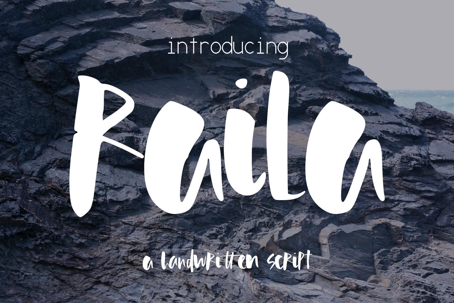 Raila Font example image 1