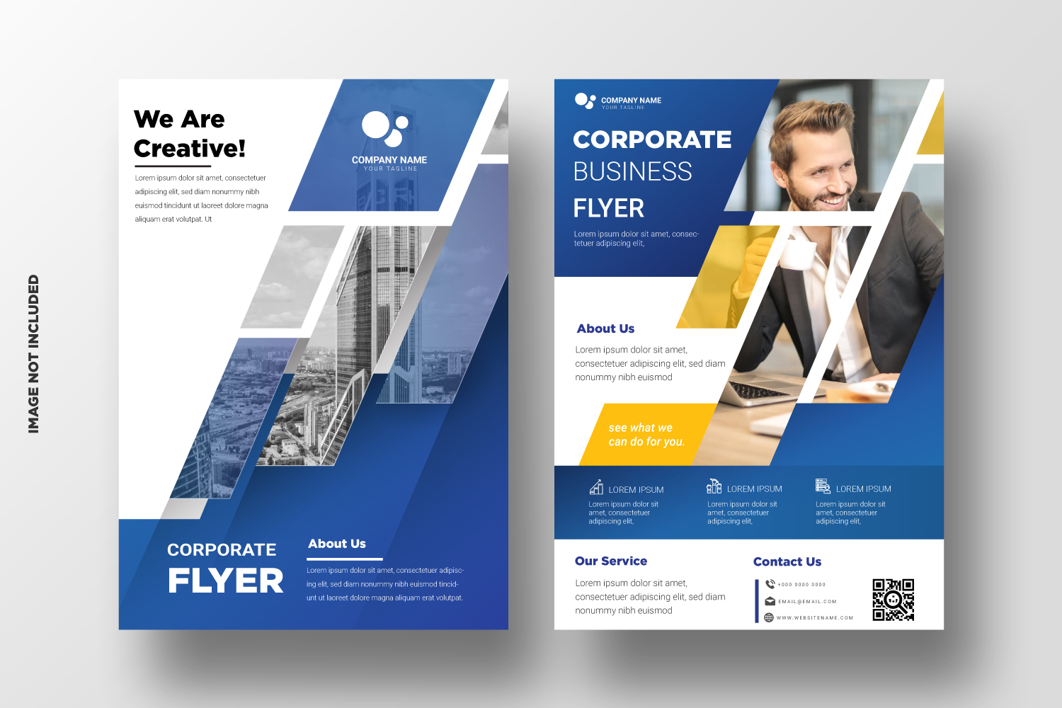 Business Flyer Template. Vol-13 example image 2