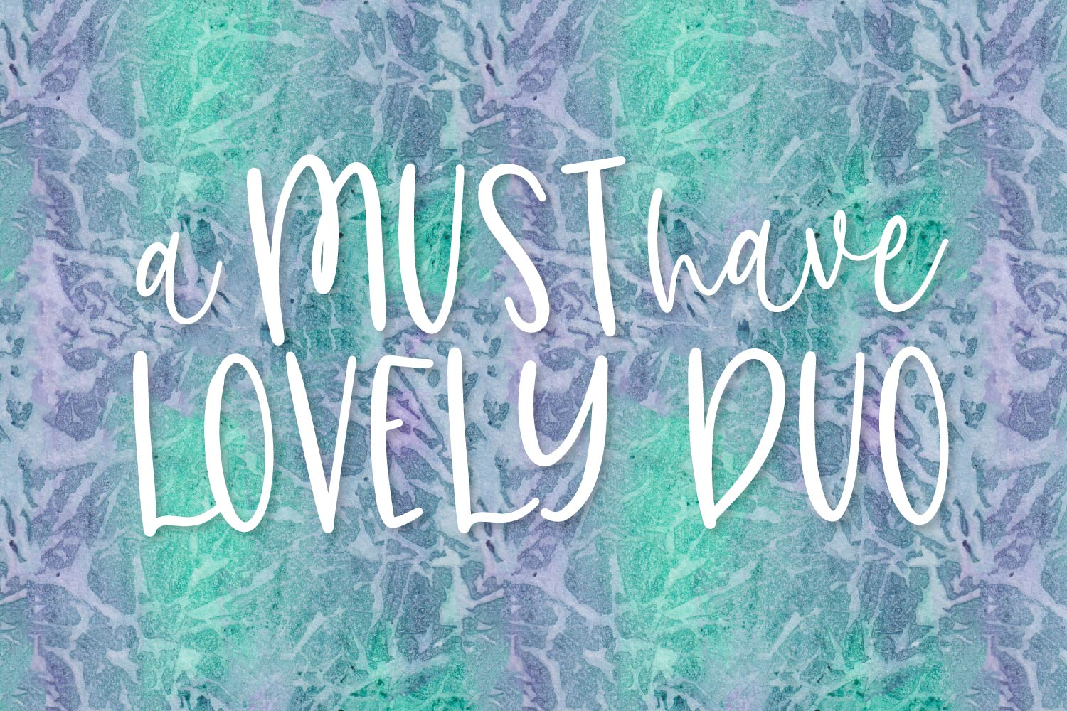 Clearly, Dearly - A lovely Script & San Serif font duo example image 2