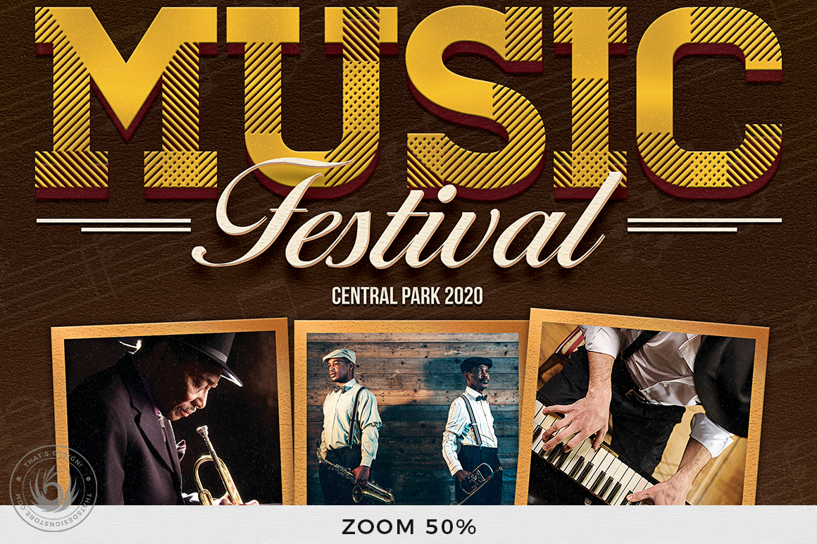 Music Festival Flyer Template V7 example image 7
