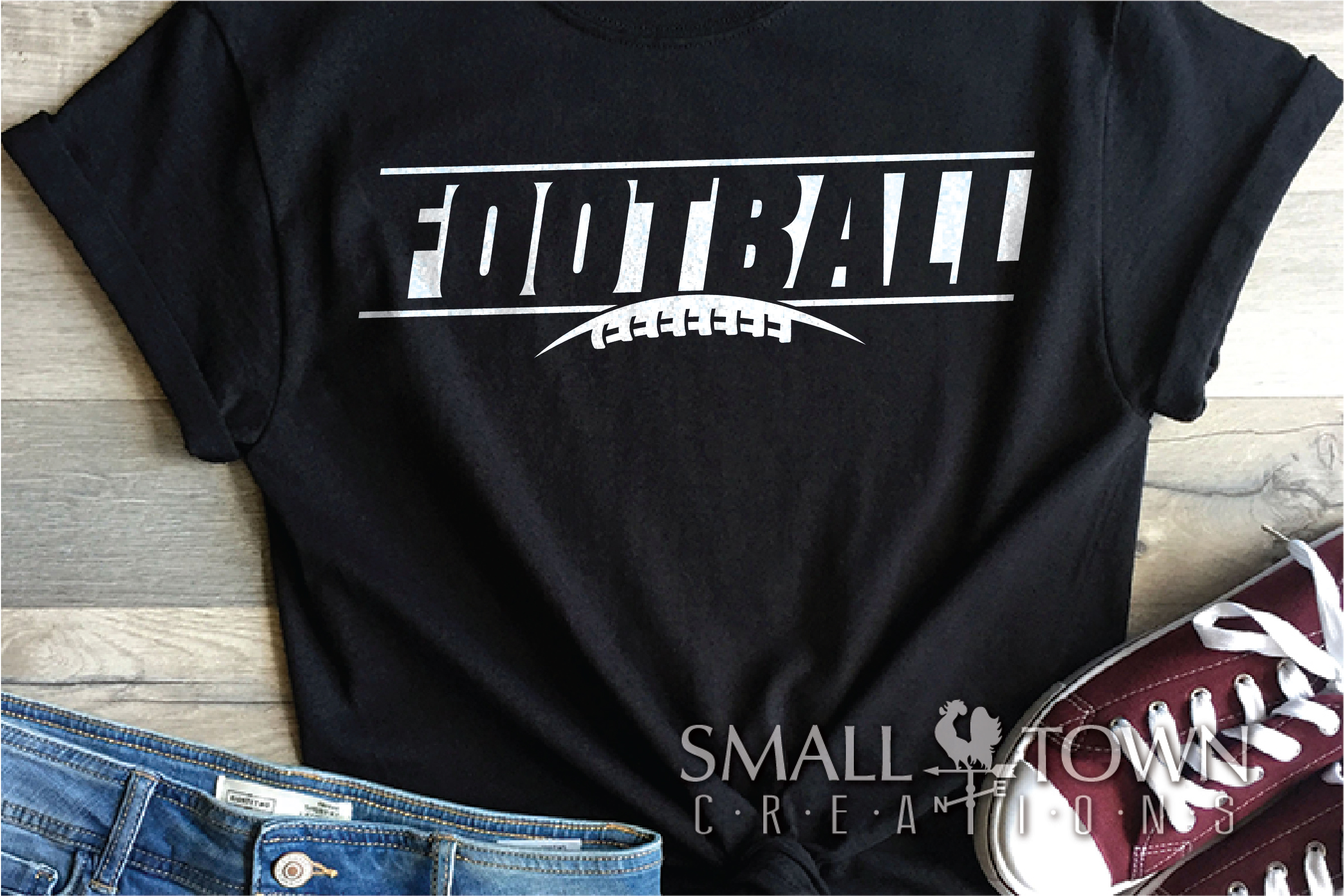 Football, Football Team, Team, Sport, PRINT, CUT & DESIGN example image 1