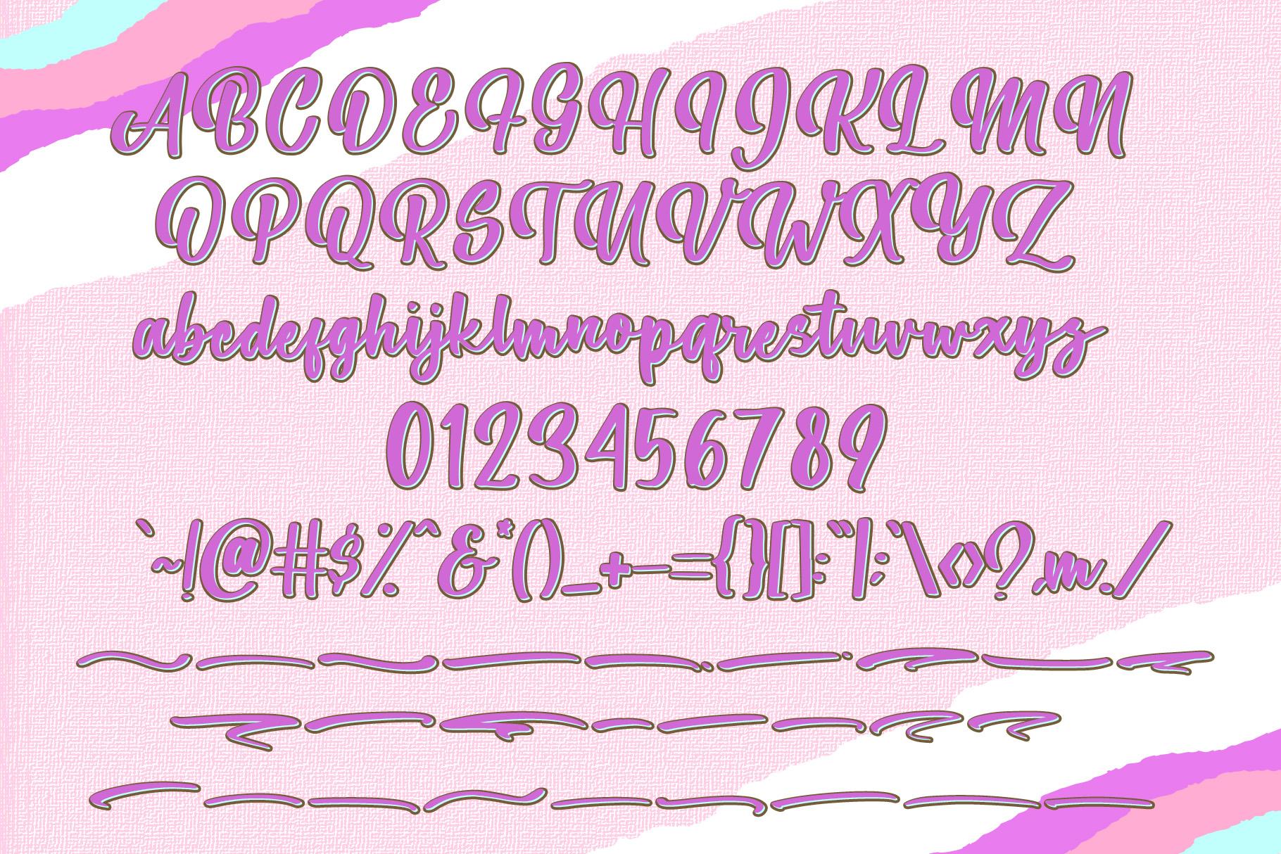 Parfait - Brush Script Font example image 7
