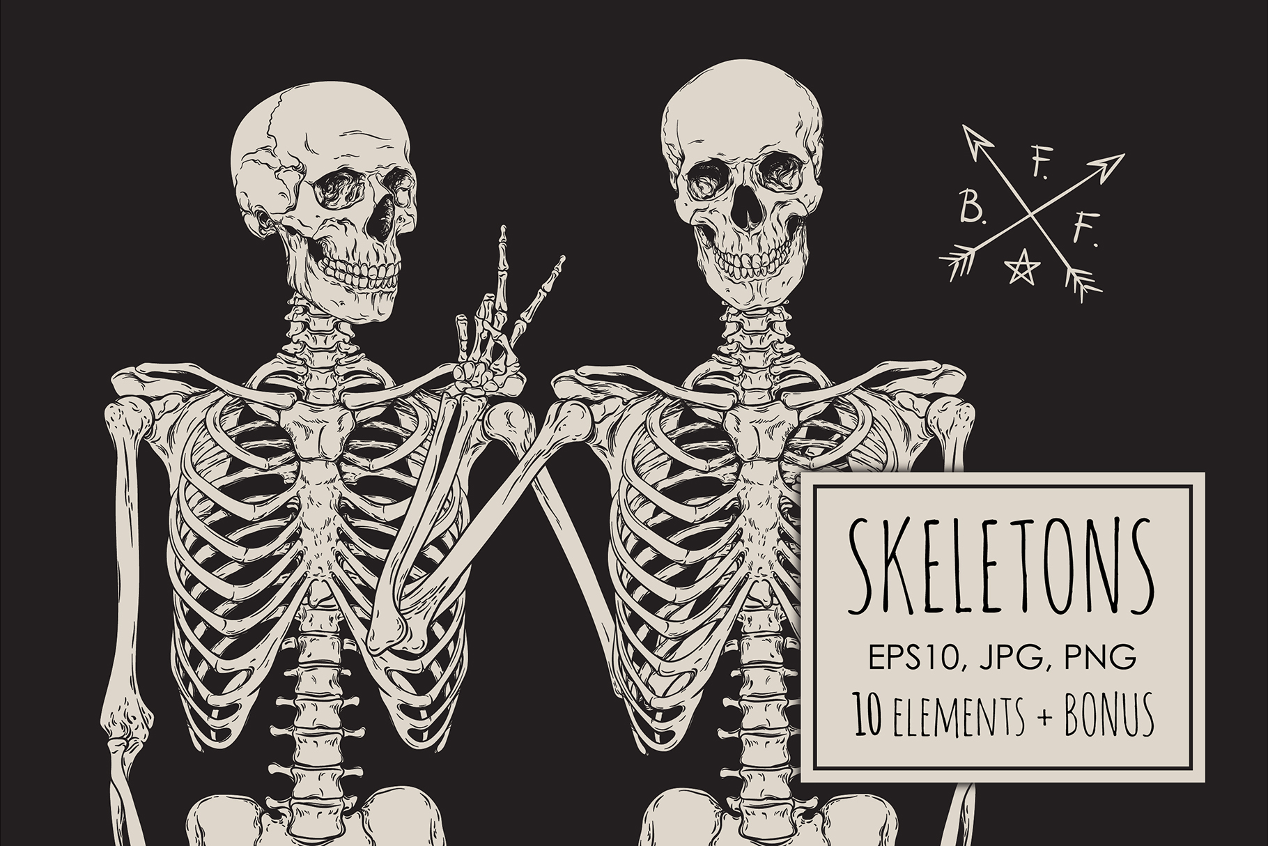 Skeletons example image 1