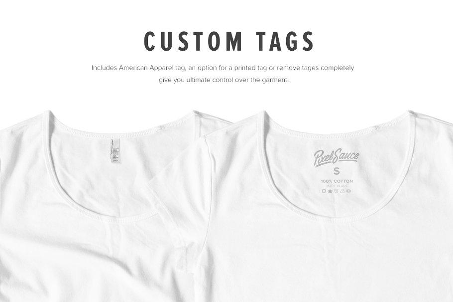8 Premium Girl's T-Shirt Mockups example image 6
