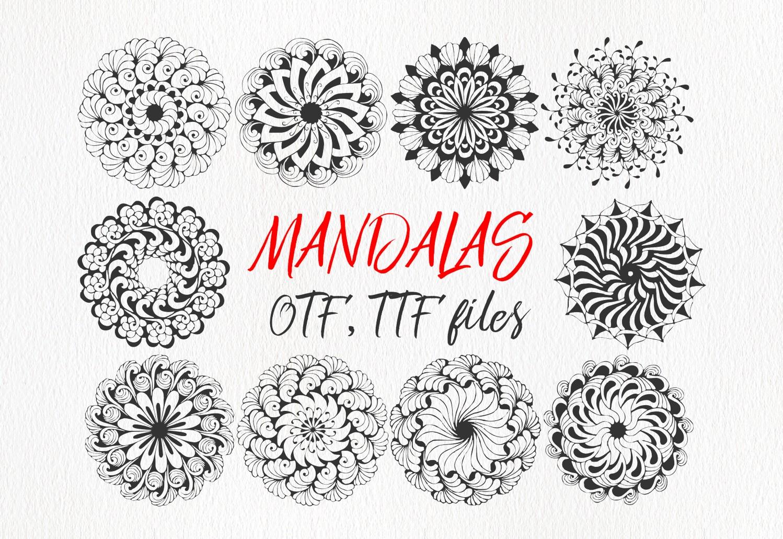 Mandings font example image 6