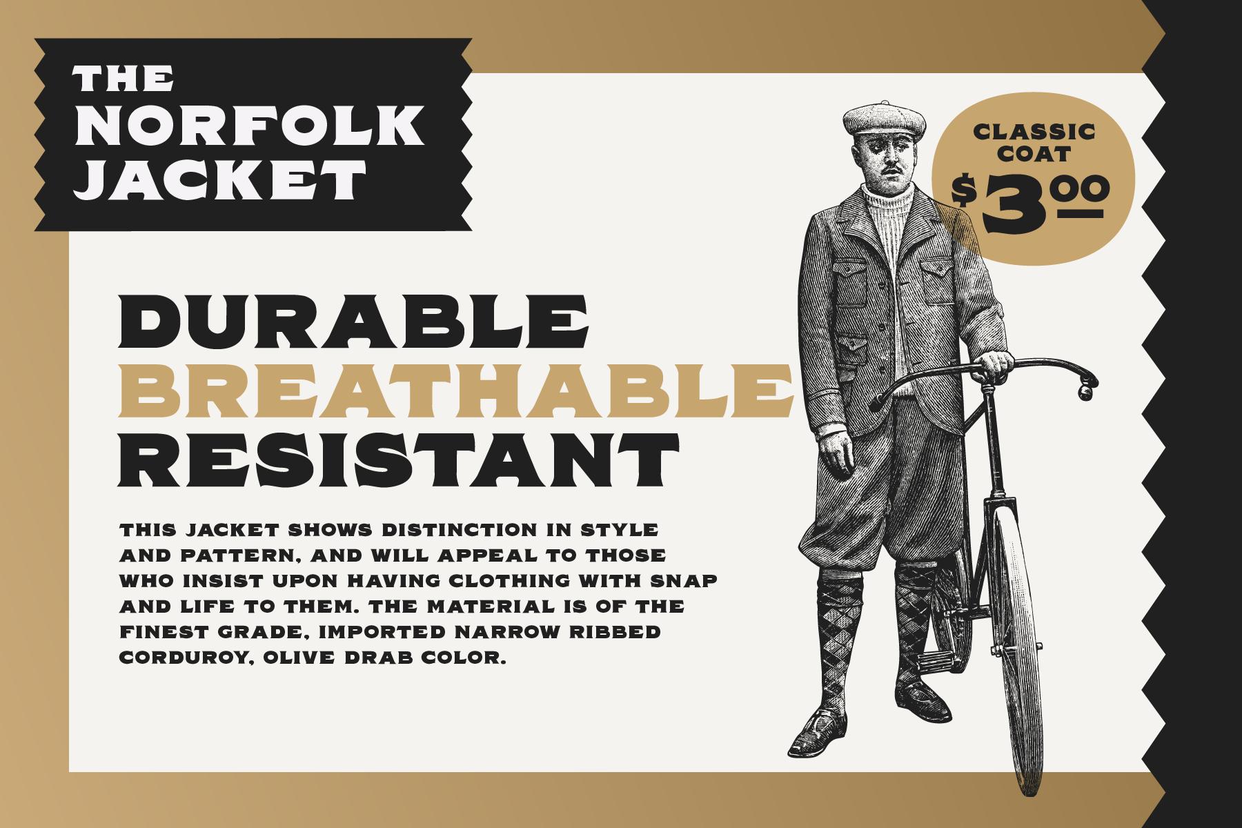 Norfolk - Vintage Display Font example image 6