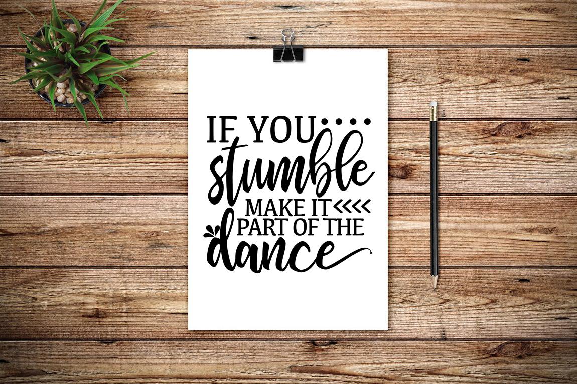 Stumble and Dance example image 2