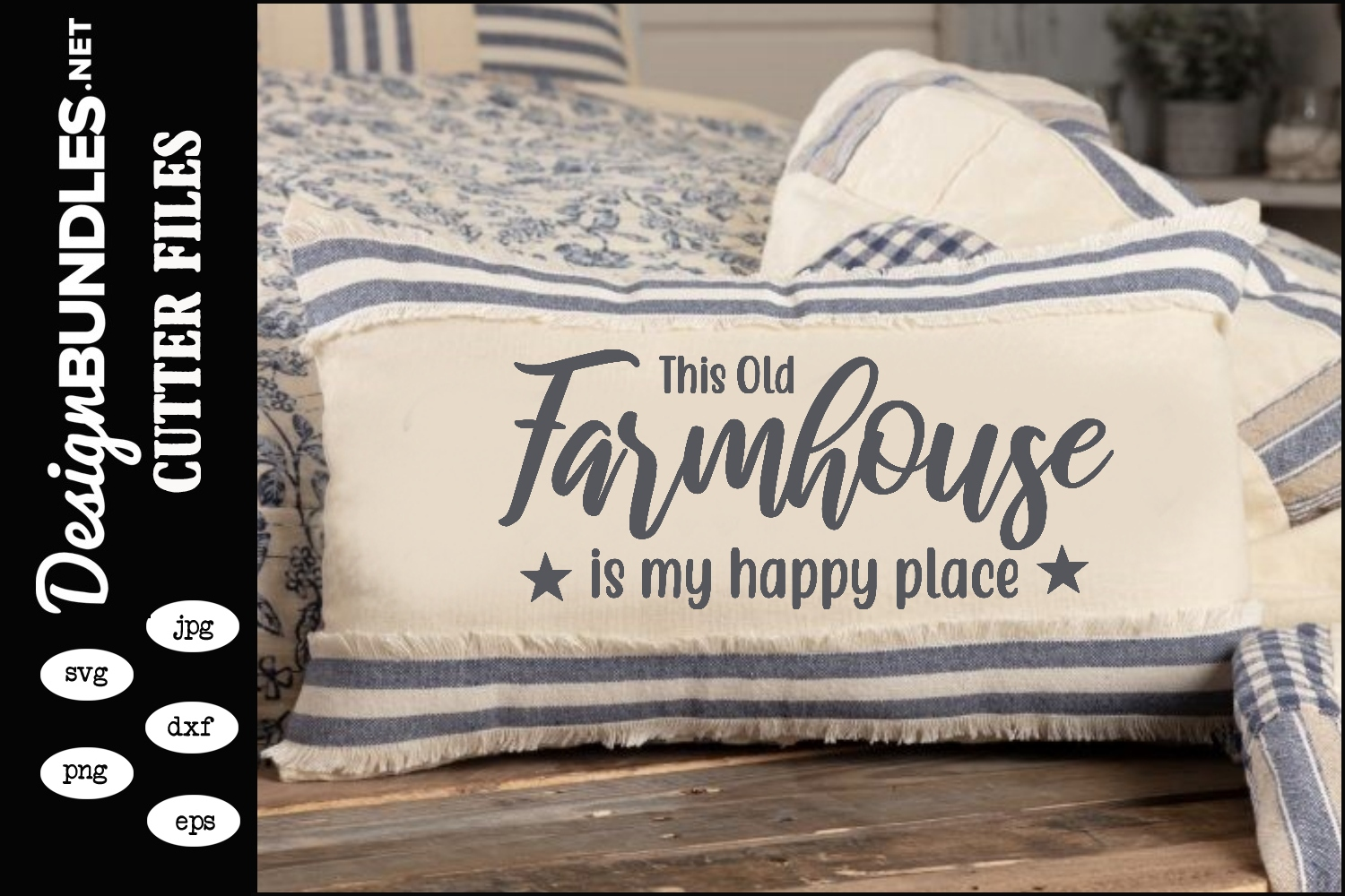 This Old Farmhouse SVG example image 1