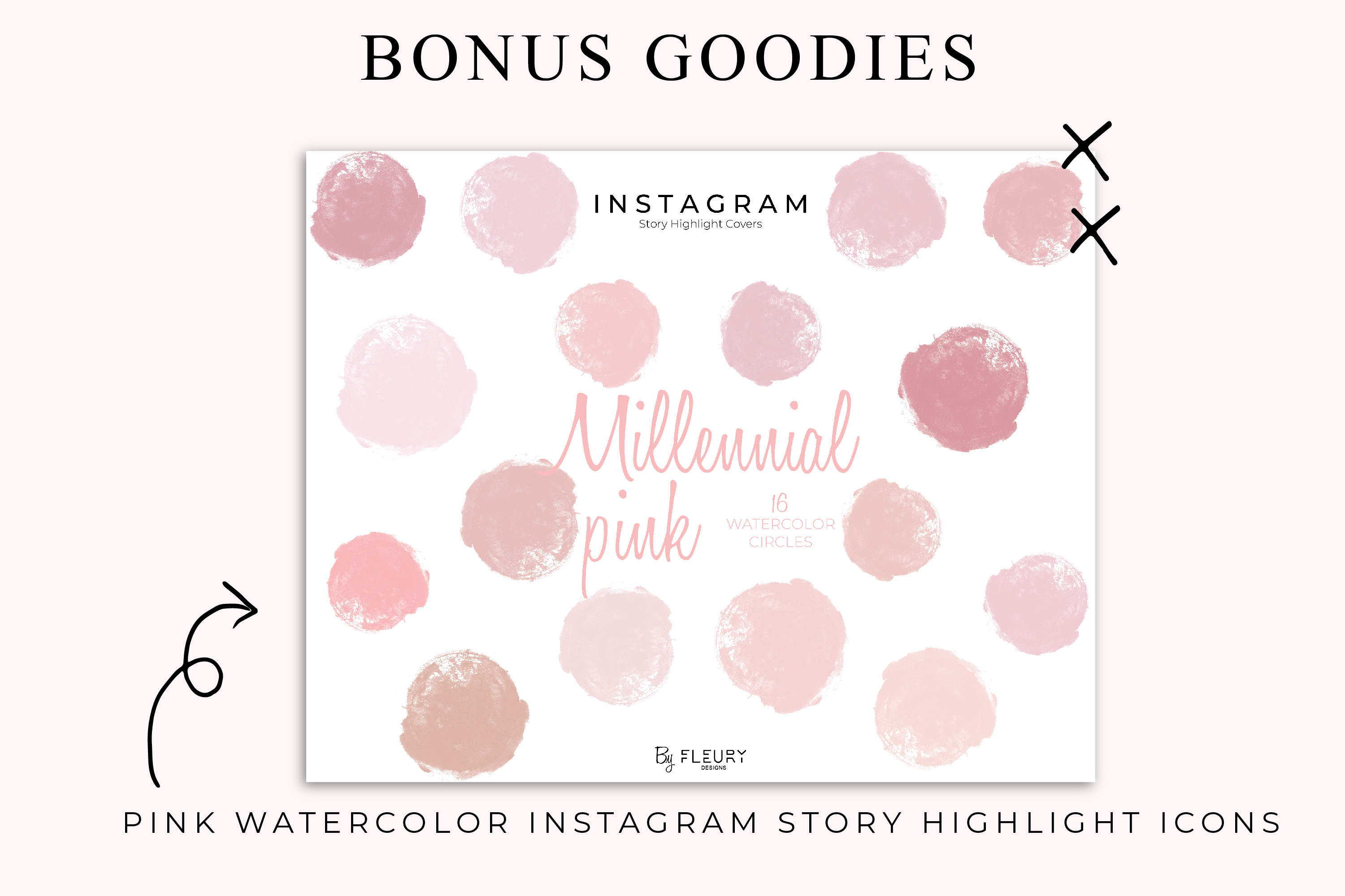 Instagram Puzzle Canva Template - Myk Rosa example image 5