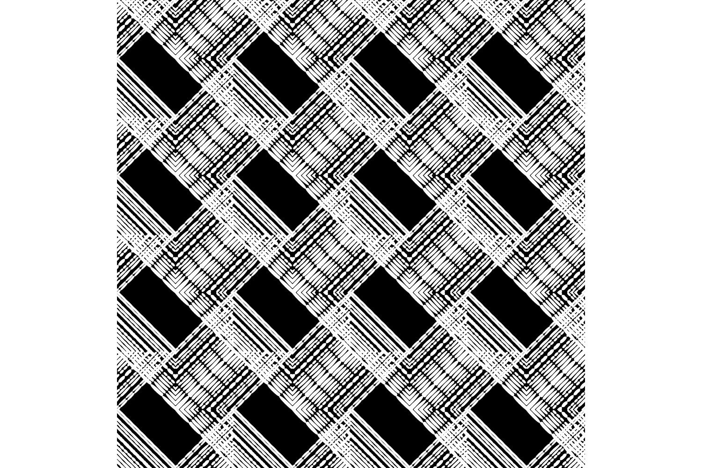 Ethnic boho ornament. Zigzag. Set of 10 seamless patterns. example image 10