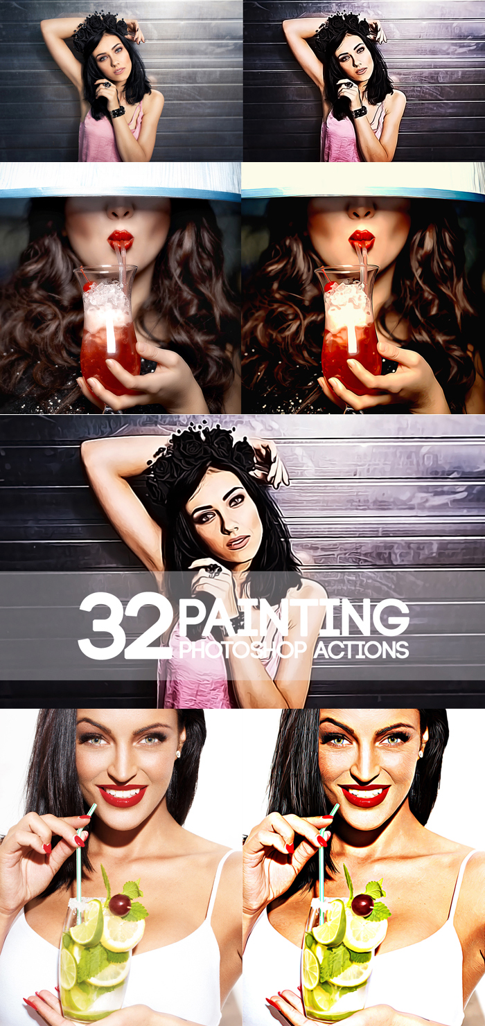 1850 Photoshop Actions example image 7