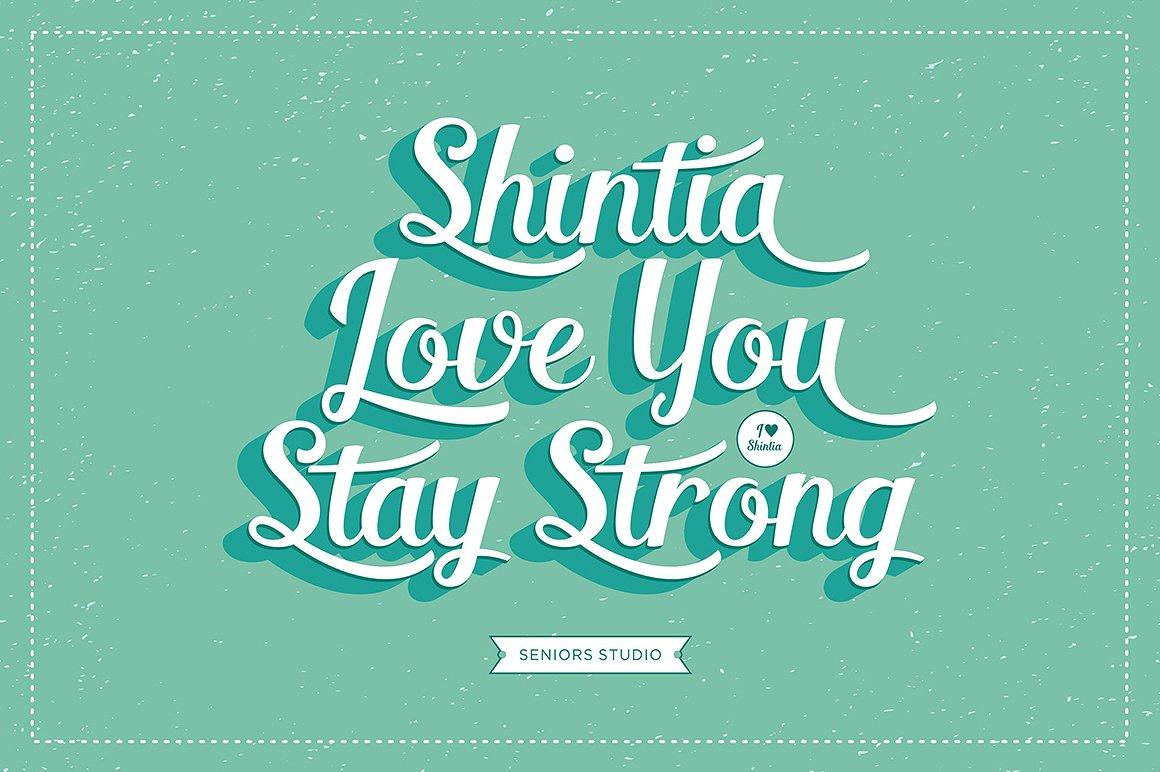 Shintia Script example image 5