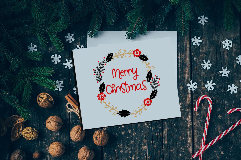 Christmas Clipart- Christmas Overlays-Holiday Graphics example image 7