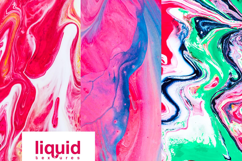 Textures liquid watercolor acrylic marble example image 4