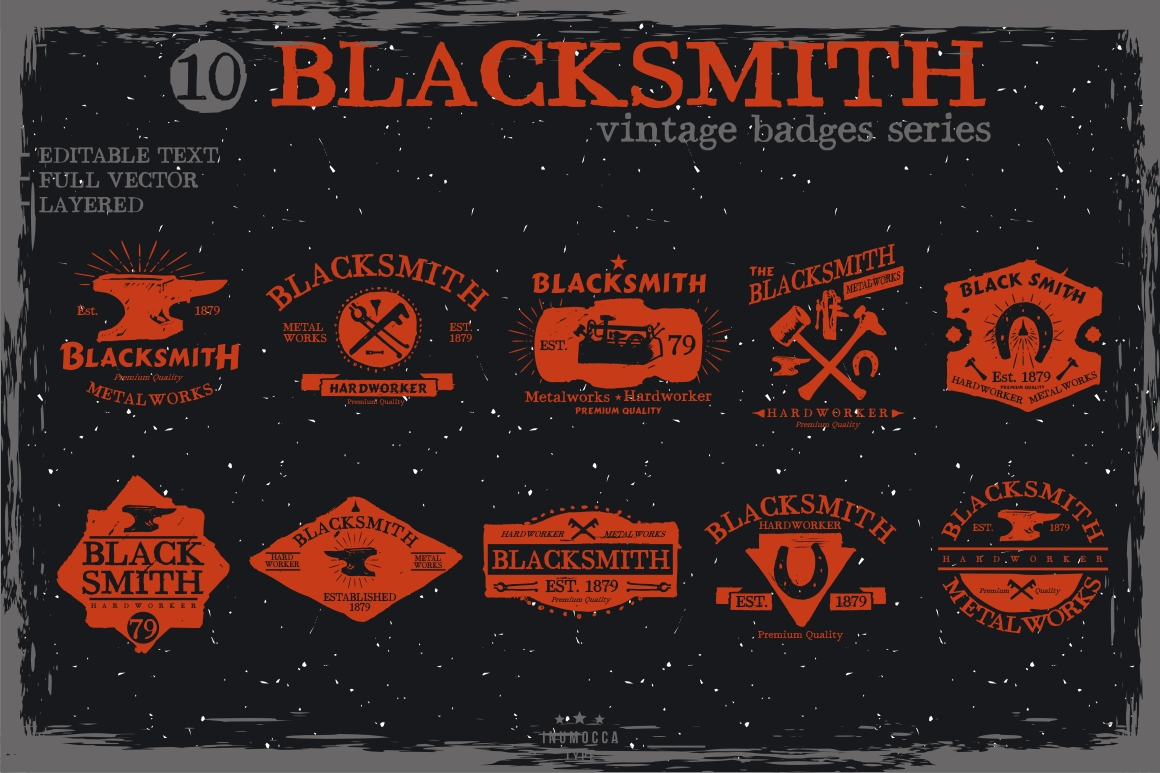 BIG BUNDLE Vintage Badges example image 8