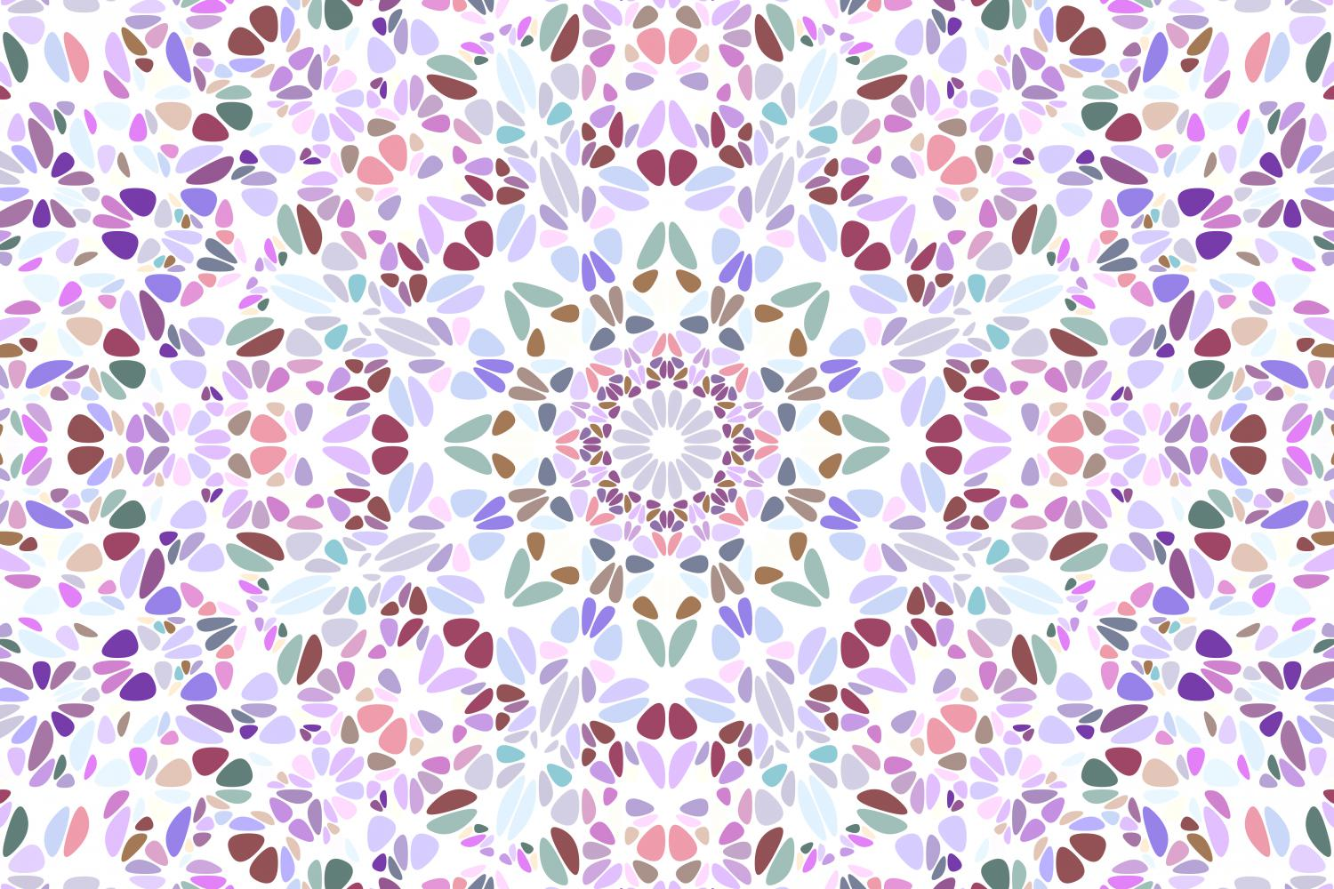 48 Floral Mandala Backgrounds example image 21