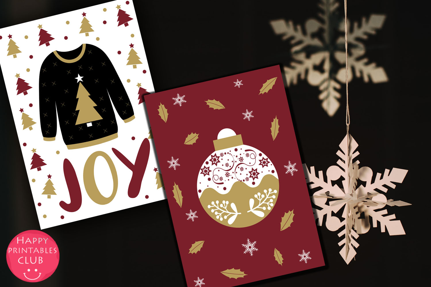 Christmas Cards-Gift Tags-Labels/Holiday Cards Tags Labels example image 4