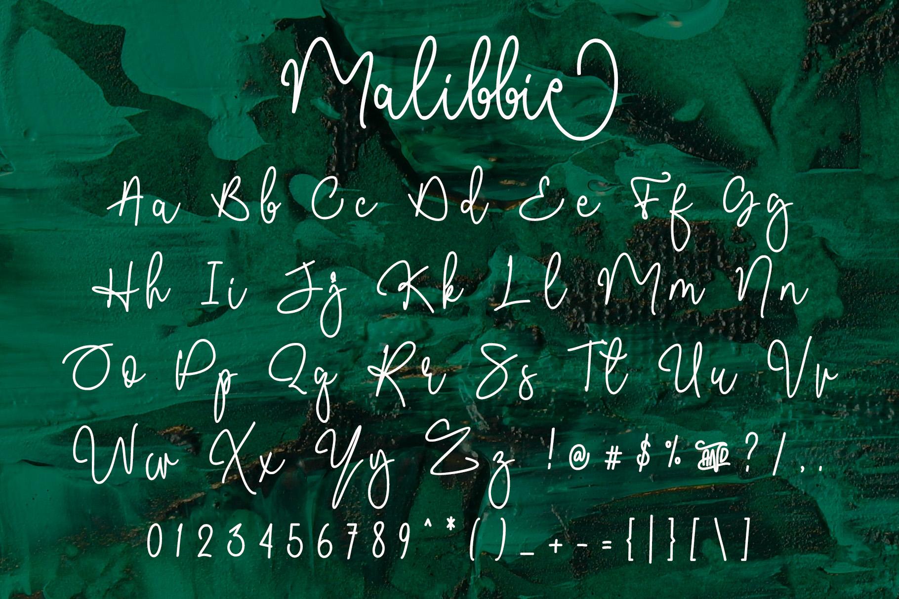 Malibbie Signature example image 7