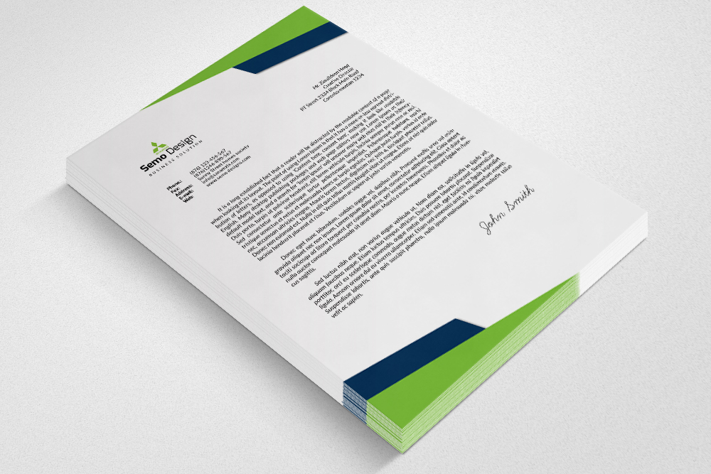 Professional Business Letterheads example image 3