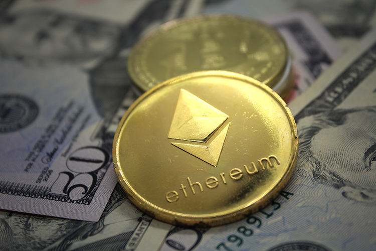Cryptocurrency Coins. Bitcoin, Ripple and Ethereum JPEG Set example image 8