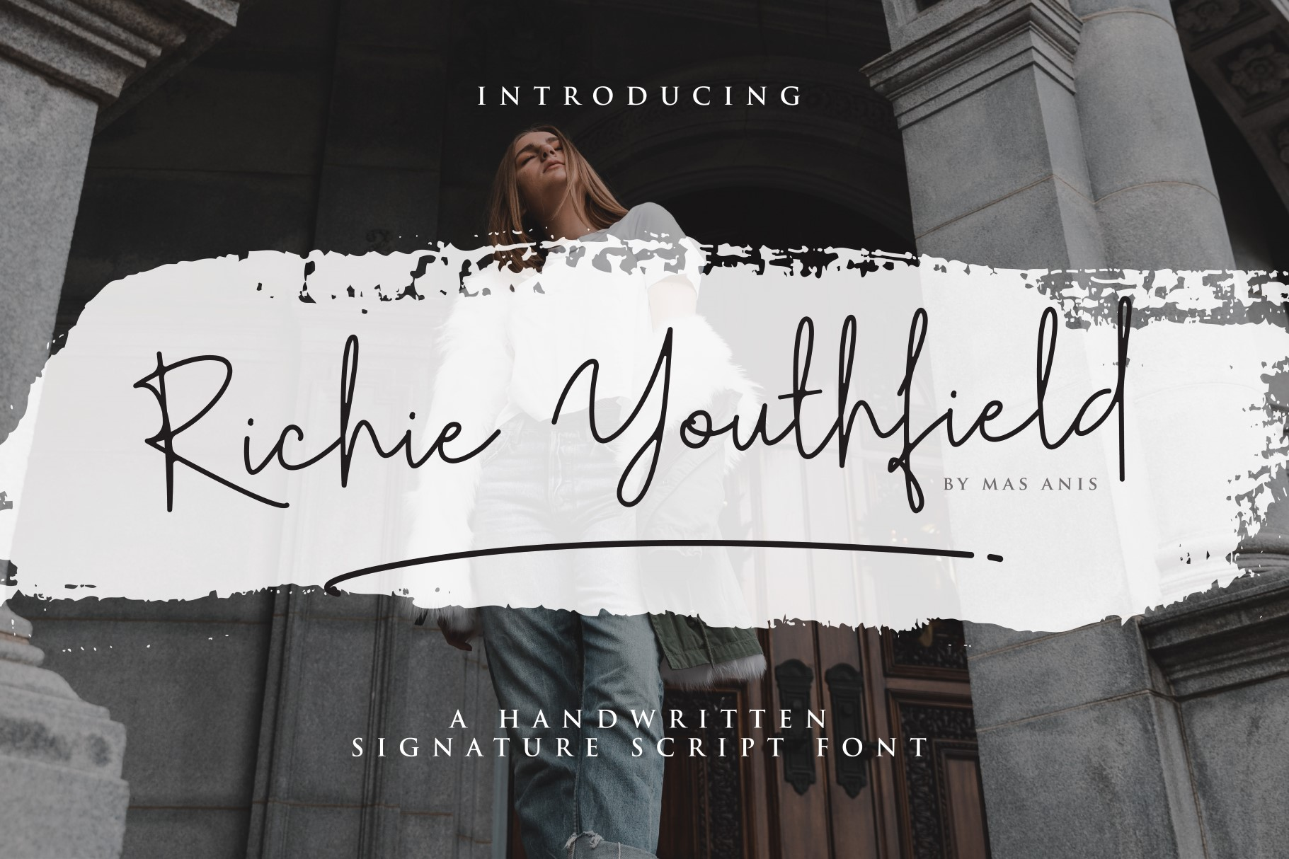 Richie Youthfield - Signature Font example image 1