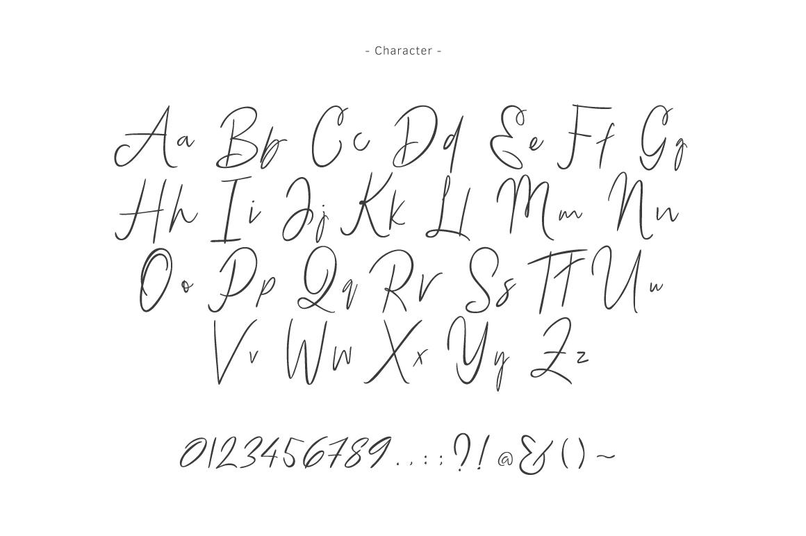 Bammantoe Typeface example image 7