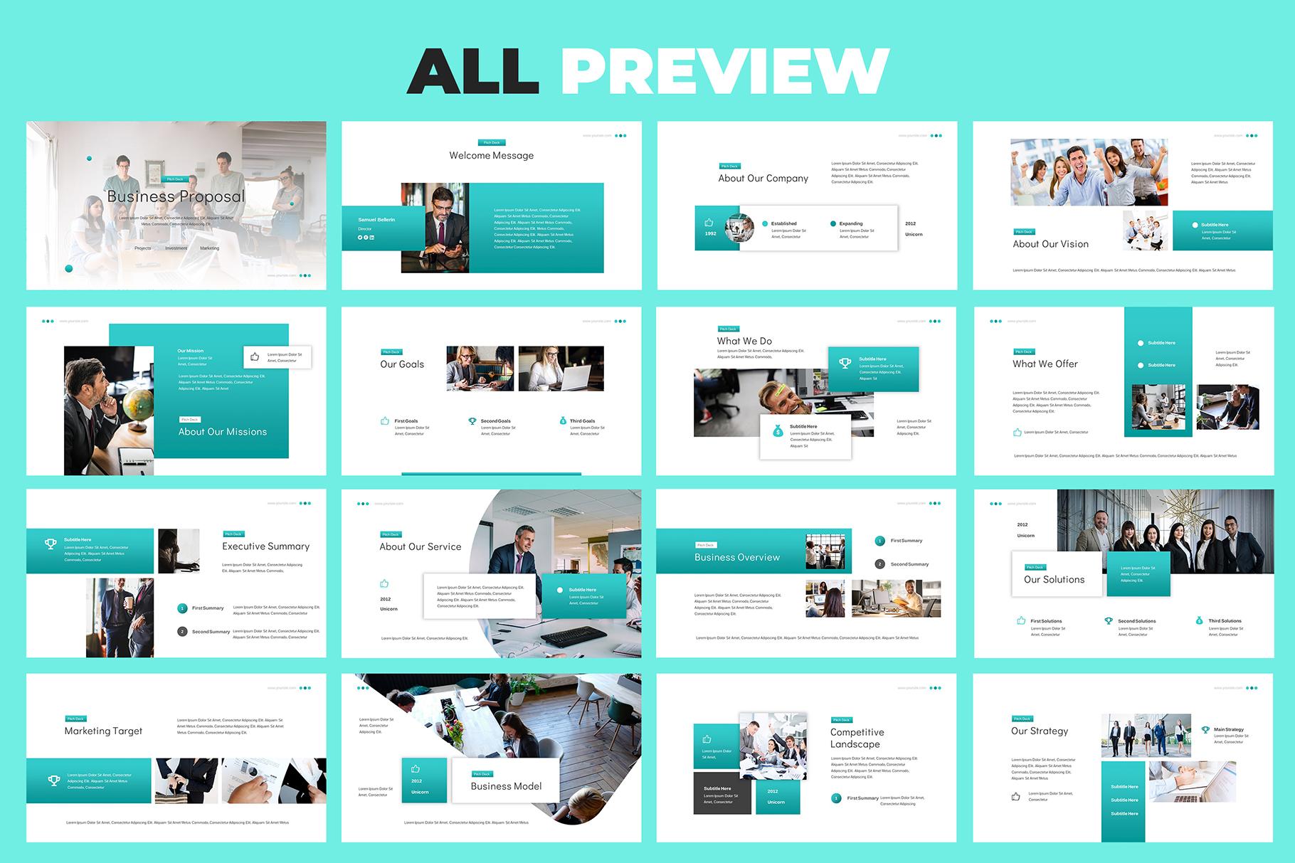 Business Proposal Google Slides example image 5