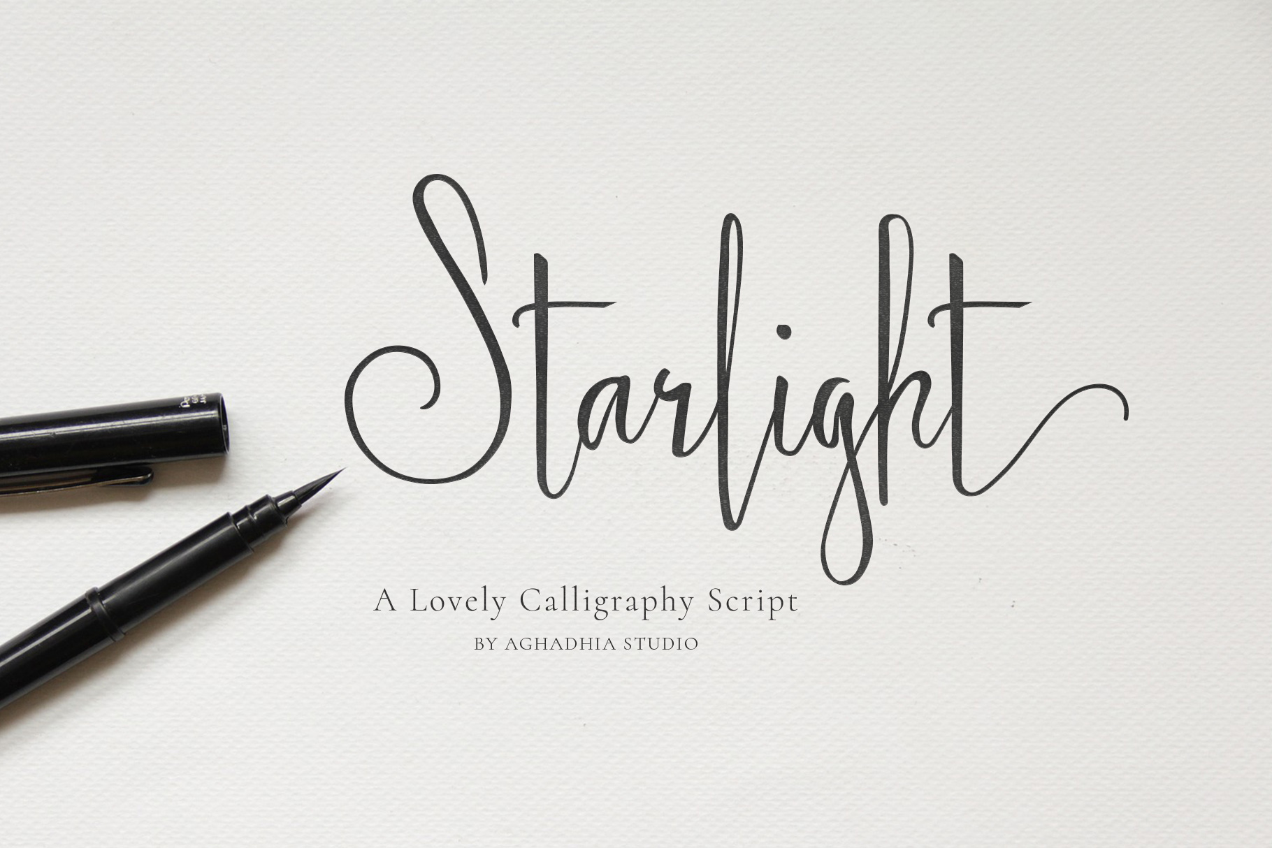 Starlight - Lovely Calligraphy Font example image 13