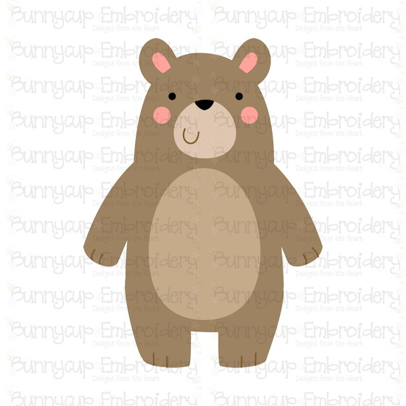 Boxy Forest Animals - SVG, Cut Files, Clipart, Printables example image 2