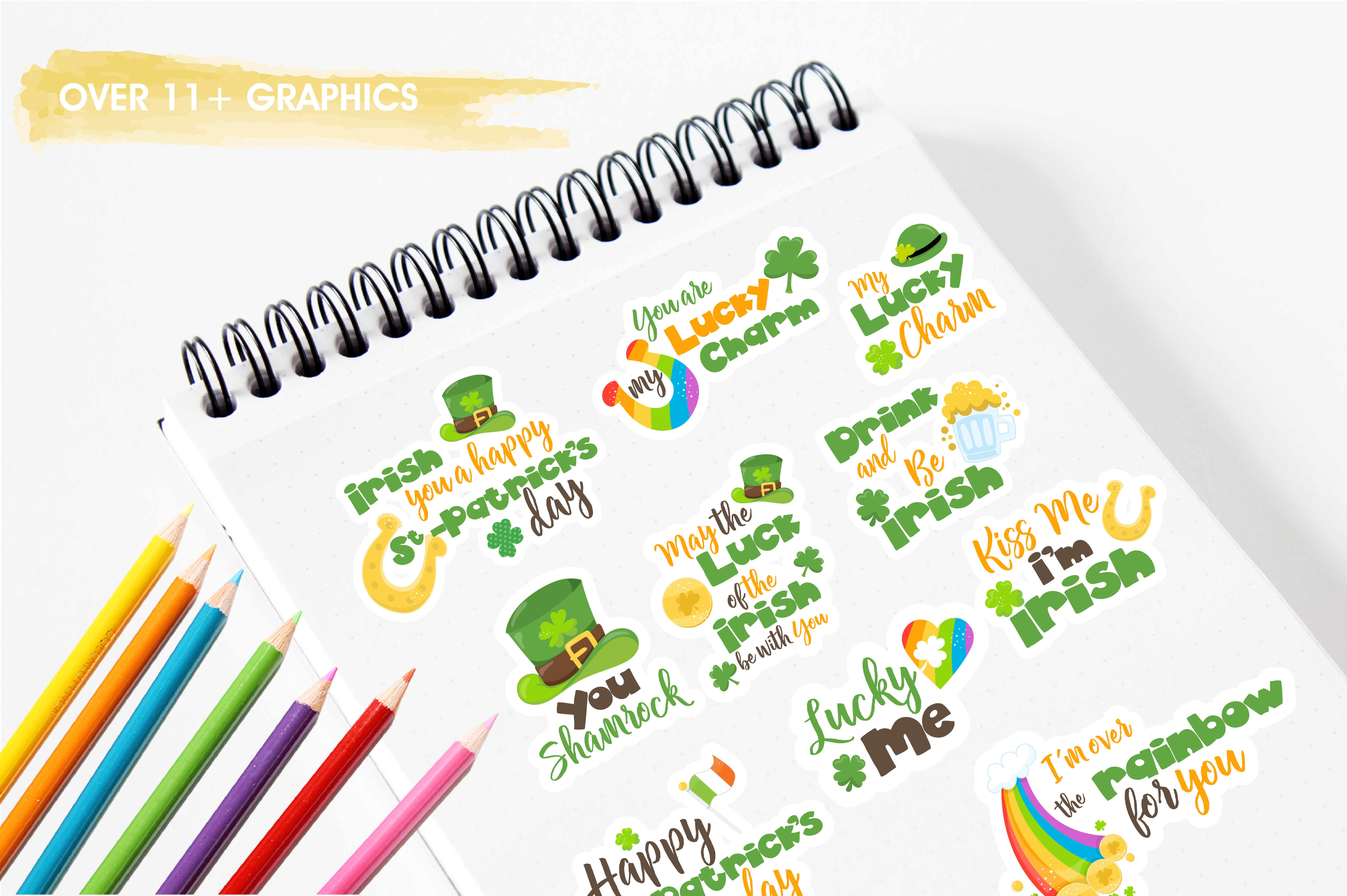 St-Patrick word art graphics and illustrations example image 3
