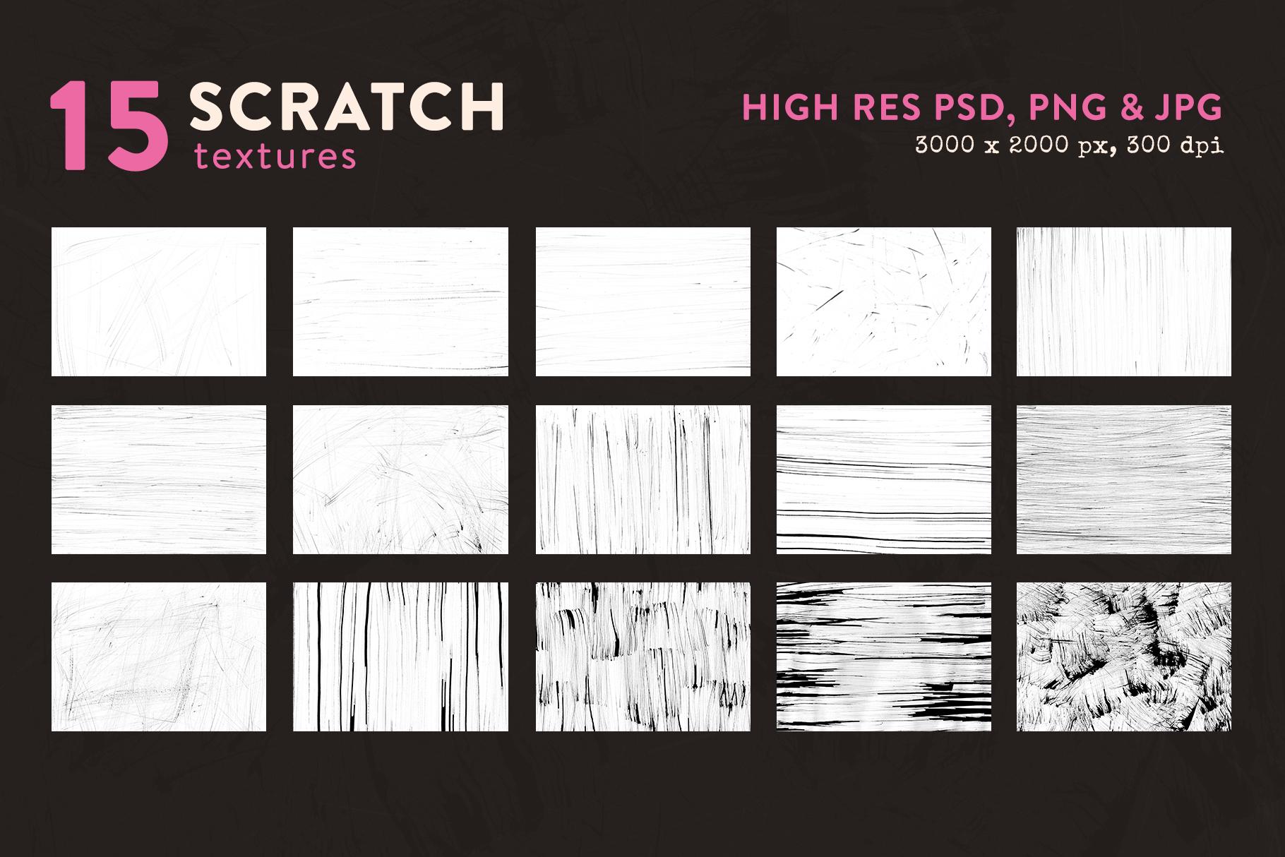 Scratch Textures example image 2