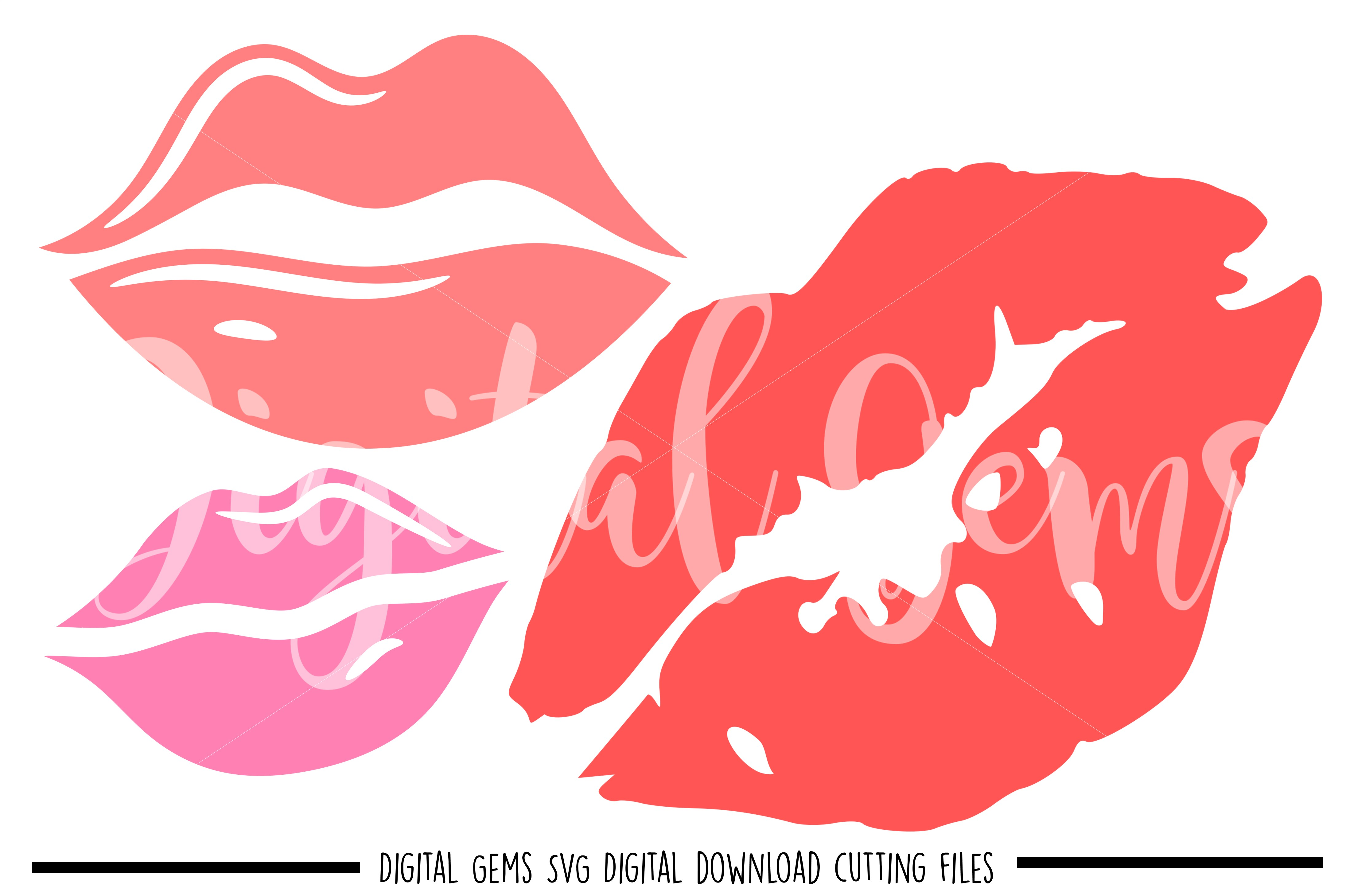 Download Lips SVG / PNG / EPS / DXF files