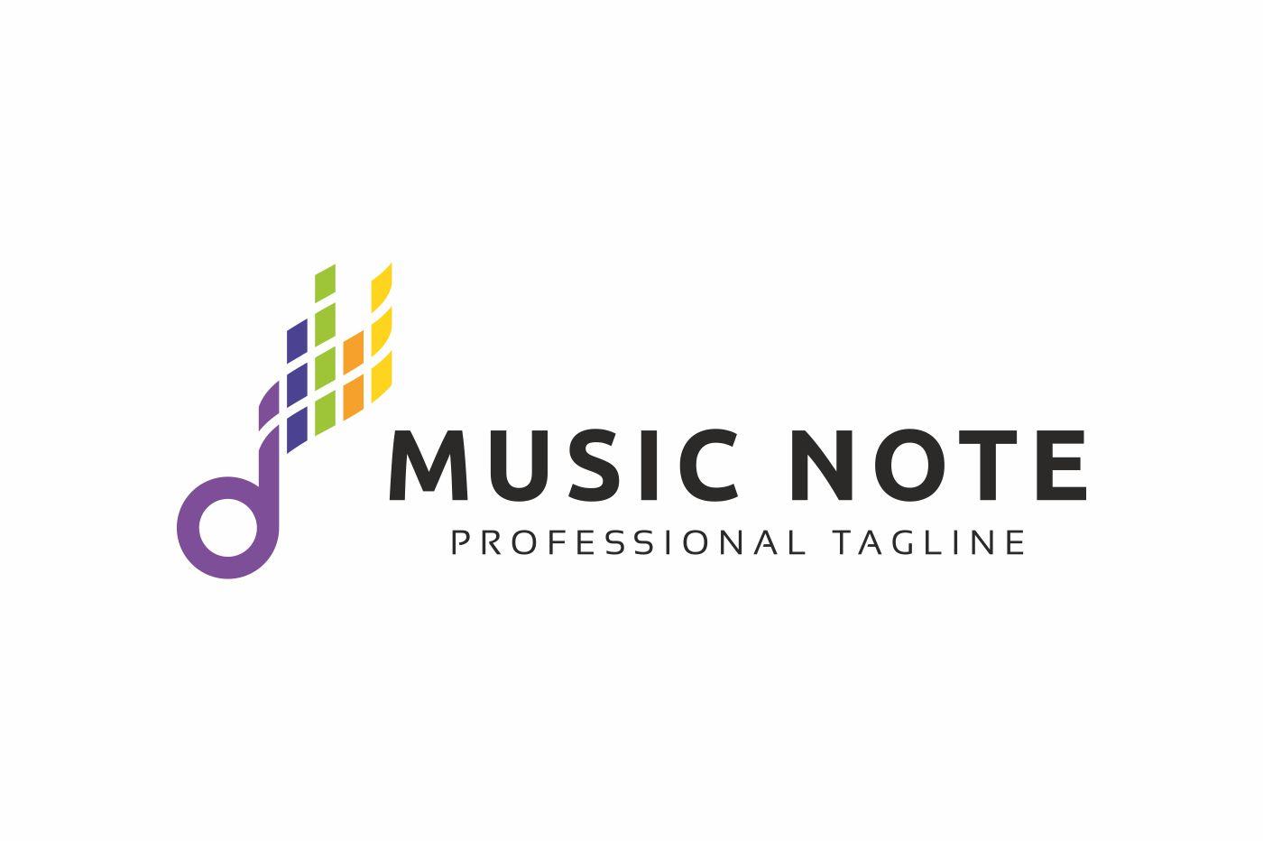 Music Note Logo example image 3