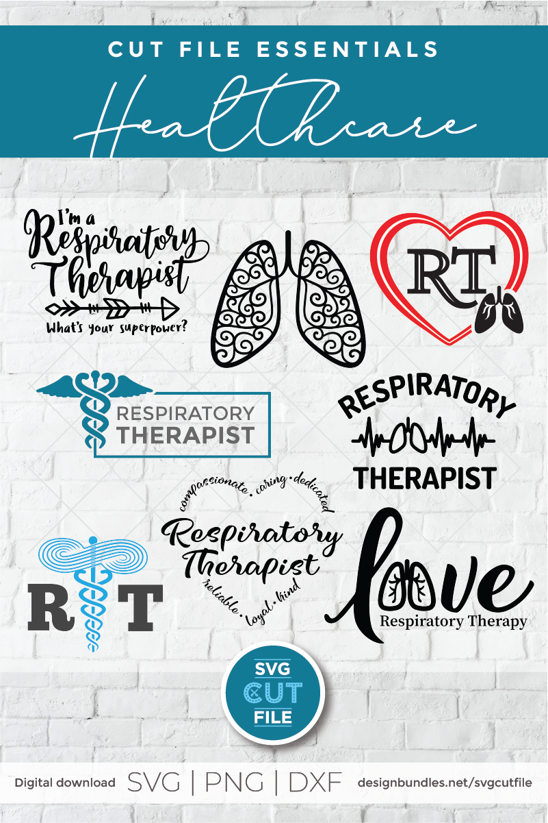 Respiratory therapist svg, RT svg, bundle svg for Cricut example image 2