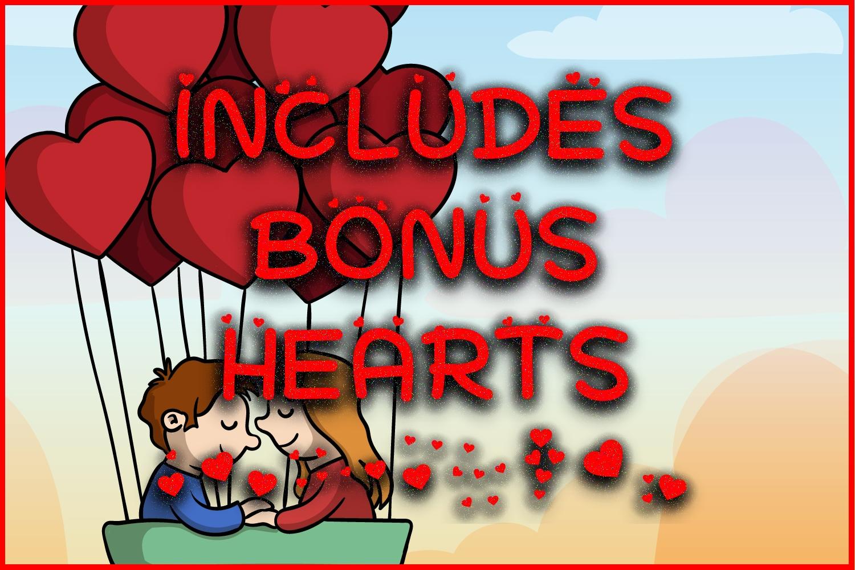 Hearts + Bonus Hearts example image 4