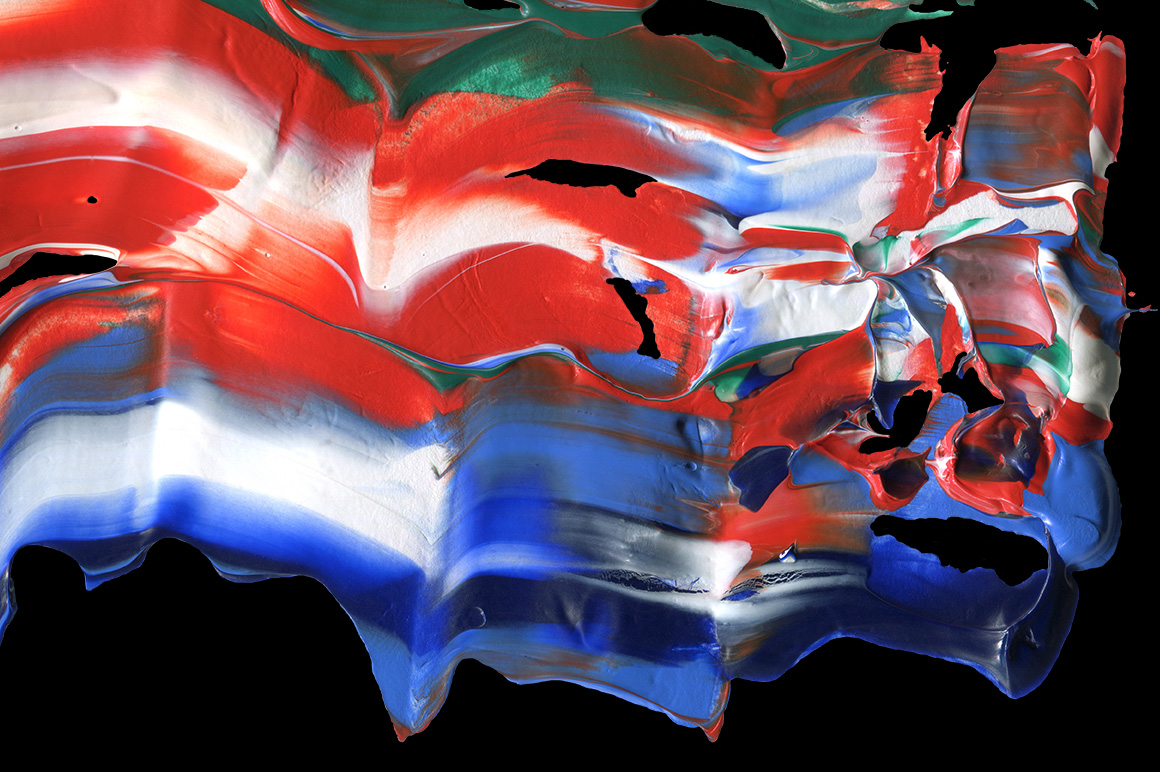 Abstract Paint Shapes example image 2