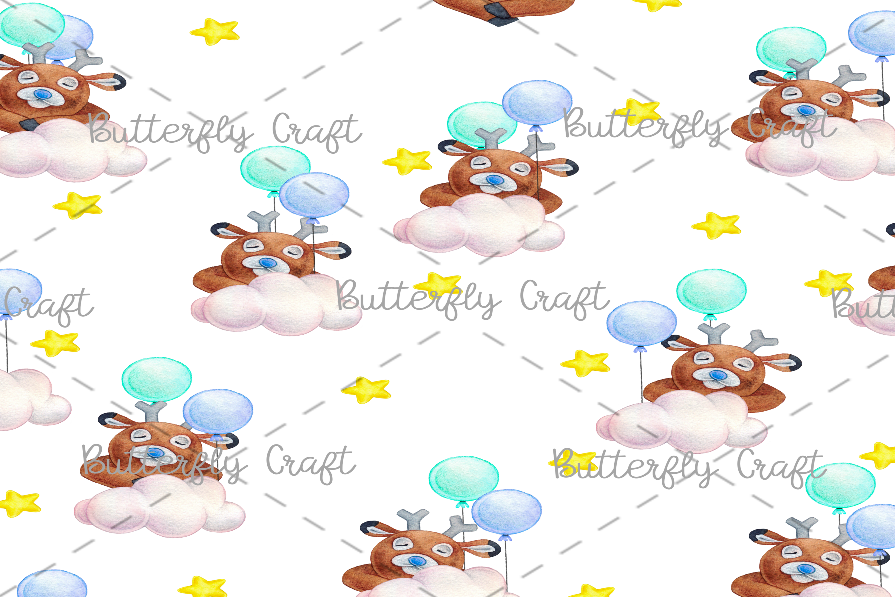 CUTE ANIMALS collection , Animals Digital Paper example image 4