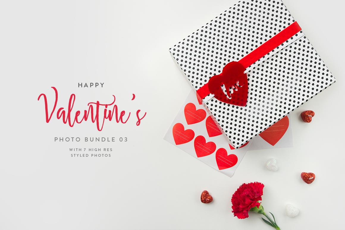 Valentine's Styled Photo Bundle - Red example image 7