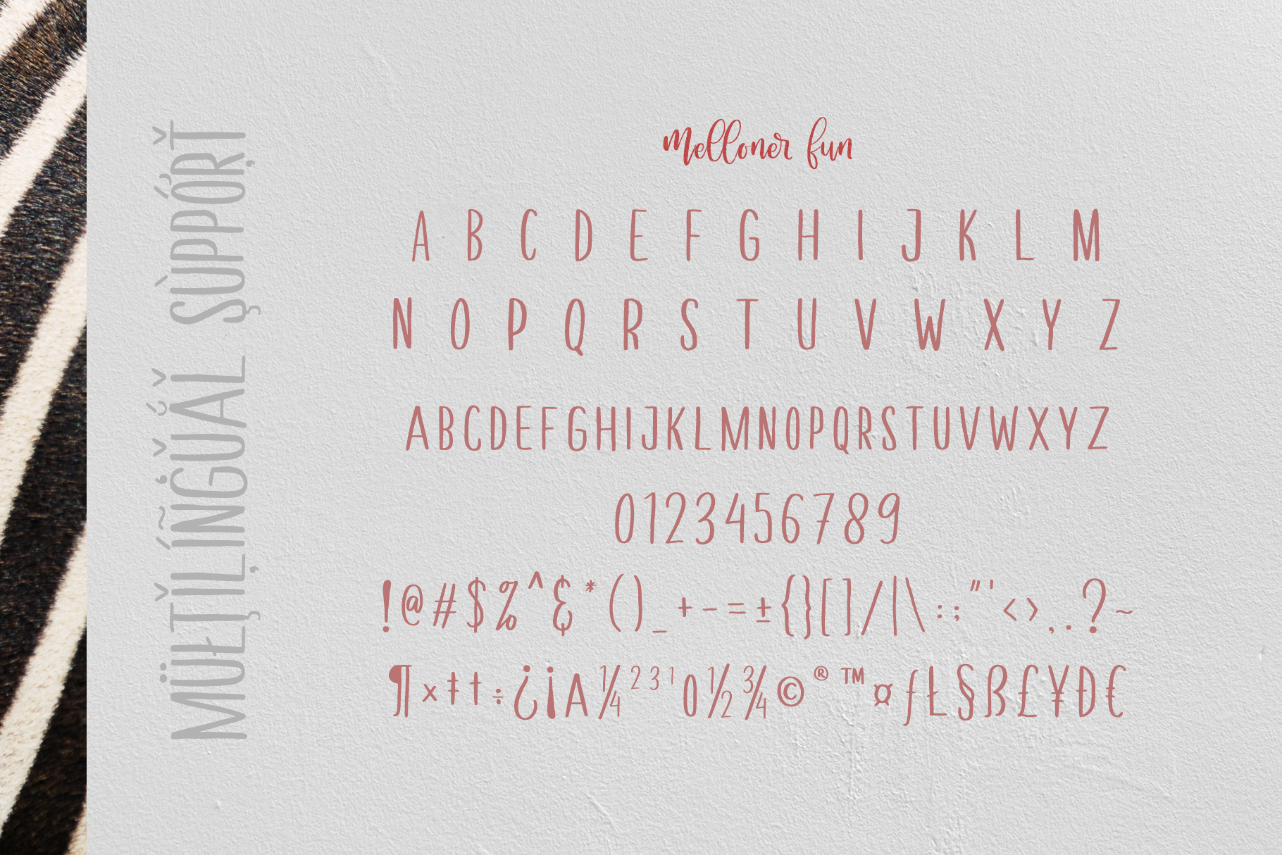 Melloner Font example image 7