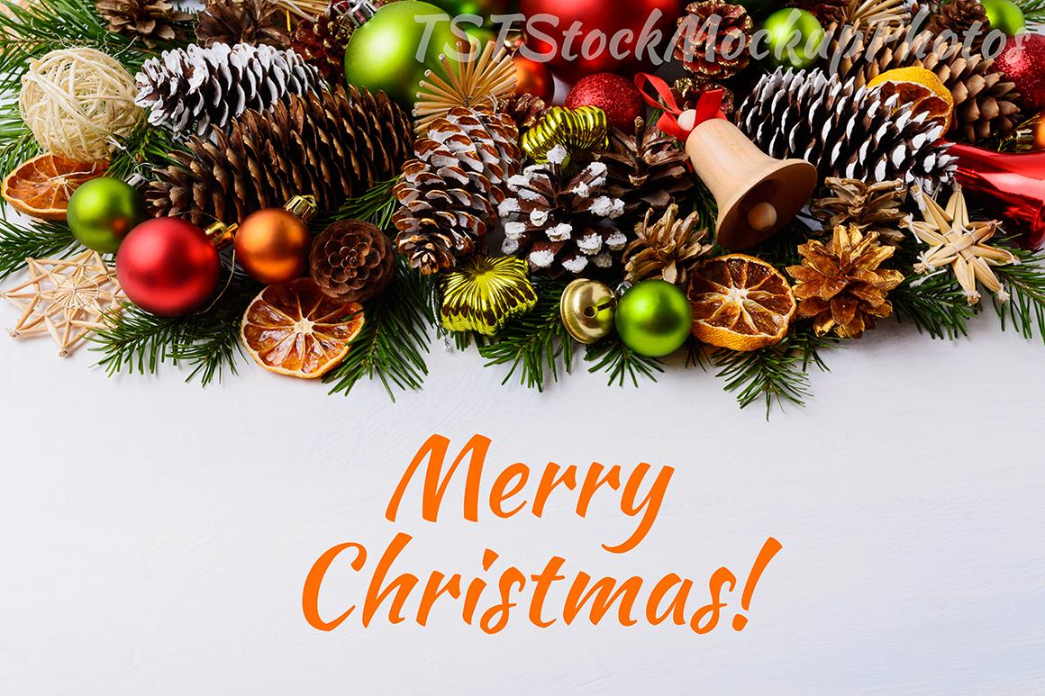 Christmas backgrounds bundle. example image 13