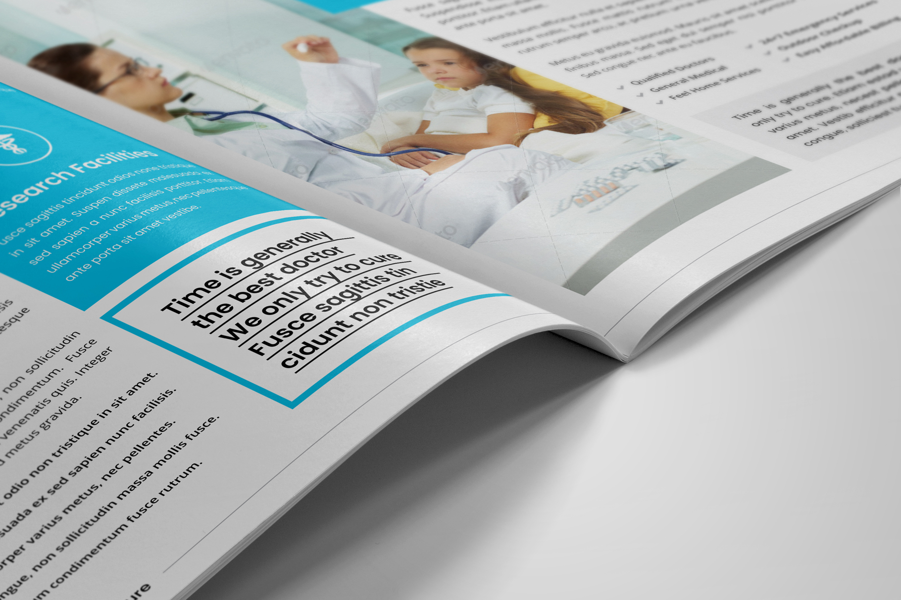 Medical HealthCare Brochure v6 example image 5
