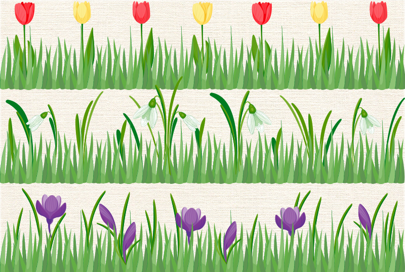Spring vector set example image 3