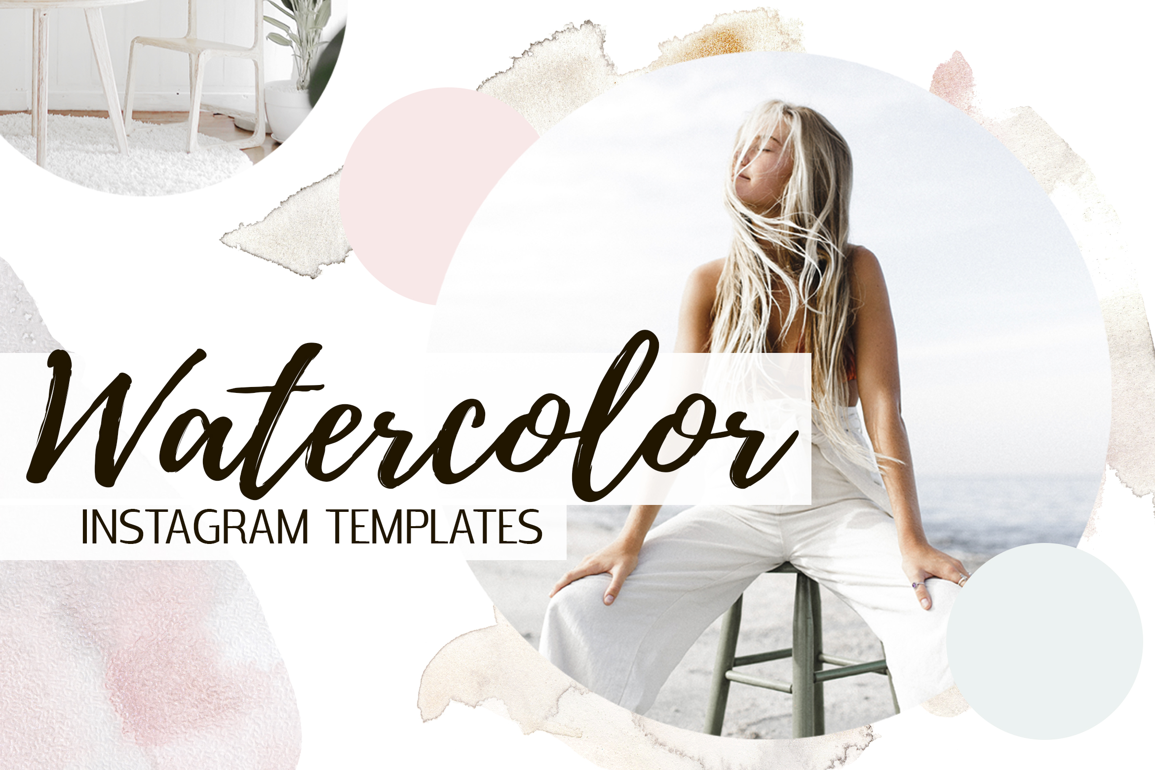 Gorgeous Watercolor Design Kit example image 10