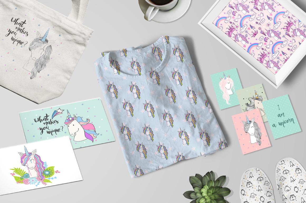 Magic Unicorns, kit example image 1